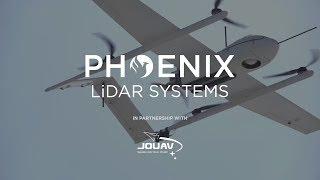 JOUAV + Phoenix LiDAR Systems TerraHawk CW-30