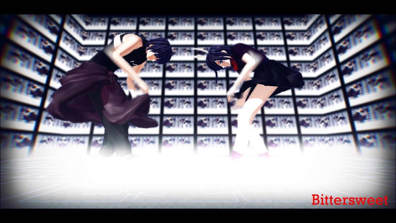   MMD    Technologic - Ayato & Touka