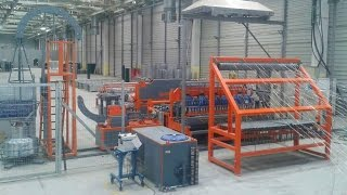 Автоматическая линия сварки рулонной сетки и ограждений серии WL