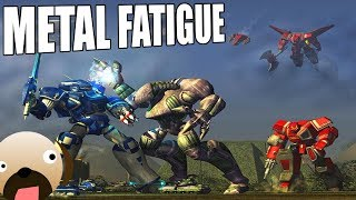 GIANT MECHS! OLD SCHOOL REAL TIME STRATEGY GAME 2000`s - METAL FATIGUE GAMEPLAY