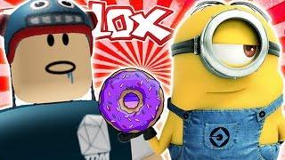 Der DiamondMinecart DanTDM Roblox - DONUT FACTORY TYCOON!!