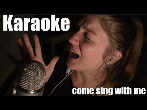 ASMR KARAOKE l Come sing with me!