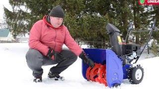 Тест драйв снегоуборщиков MasterYard ML 7522B, MasterYard MX 18528RET смотреть