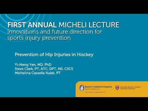 Prevention of Hip Injuries in Hockey Sports Medicine Division Boston Children's Hospital