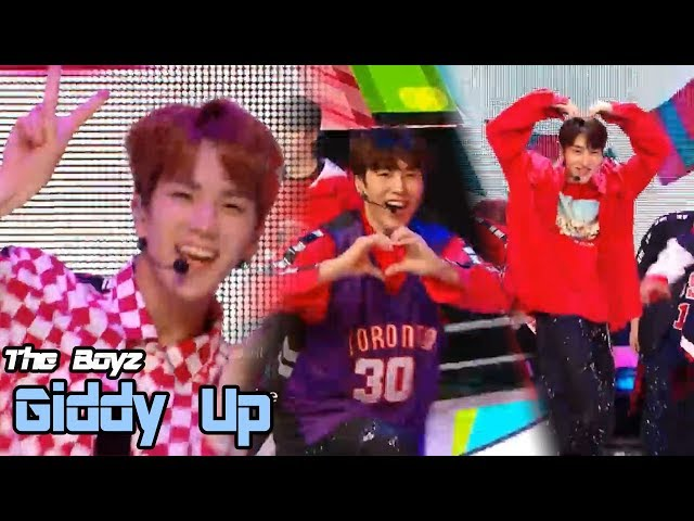 [HOT] THE BOYZ - Giddy Up, 더보이즈 - 기디업 Show Music core 20180519