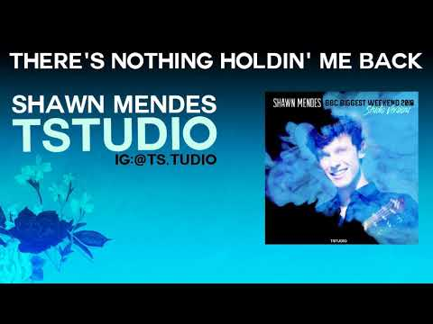 Shawn Mendes - There's Nothing Holdin' Me Back W/ Note [ 2018 - Live Studio Version ]