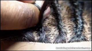 How To Cornrow Hair. Slow Step By Step Guide