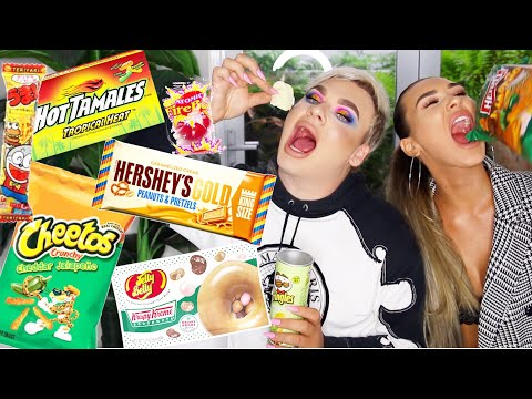 AUSTRALIANS TRYING WEIRD CANDY *Hilarious*