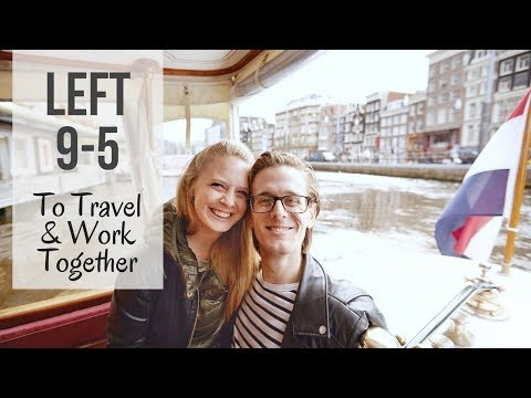 Left 9 - 5 To Travel Full Time & Work Together | 12 countries in 12 months on 20K Budget