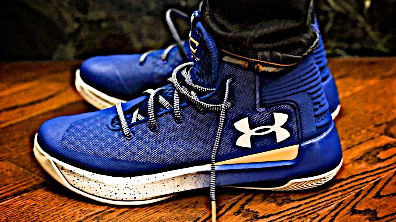 1547c21a6009 Under Armour UA Curry 3ZERO 2017 NBA Playoffs on Foot Review and Sneaker  Preview