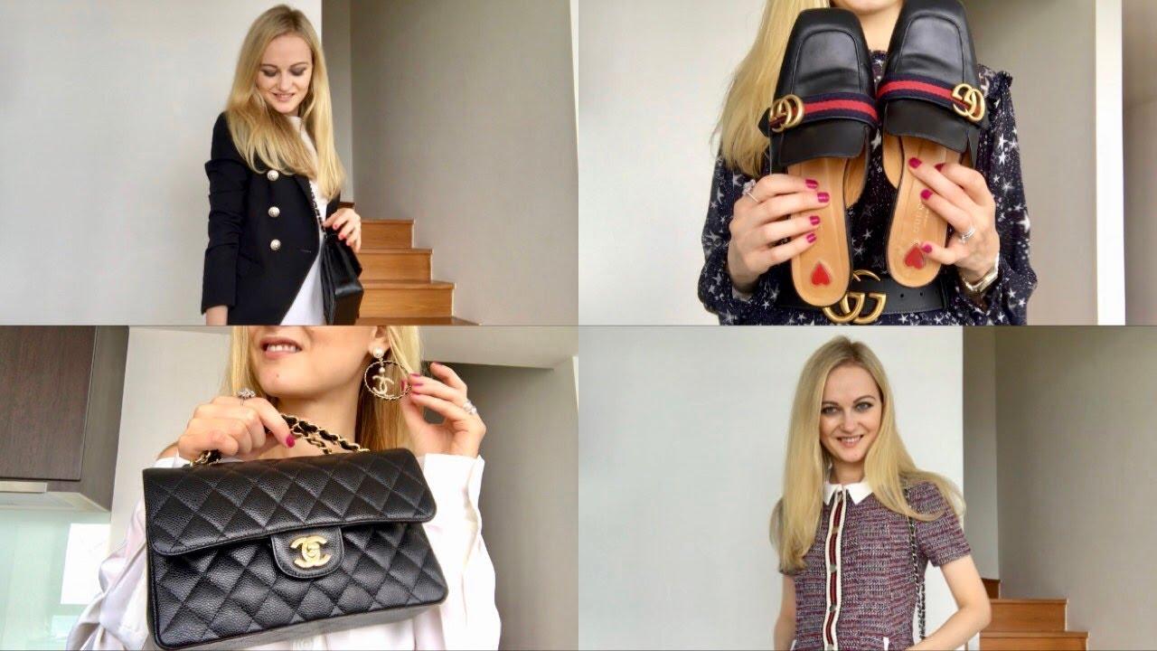 My style lookbook - 2 | fall outfits - Maje, Balmain, Zara, Gucci, DVF 2