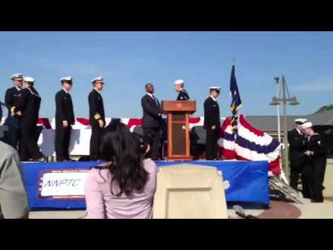 Navy Nuclear Power School Graduation