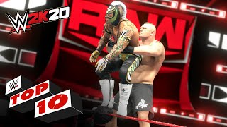 Amazing Avalanche Moves: WWE 2K20 Top 10
