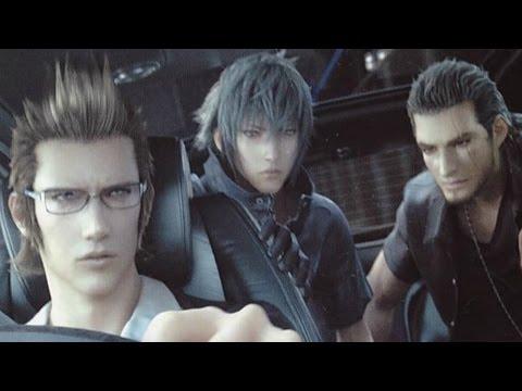 Final Fantasy XV (Versus XIII) All Deleted Scenes