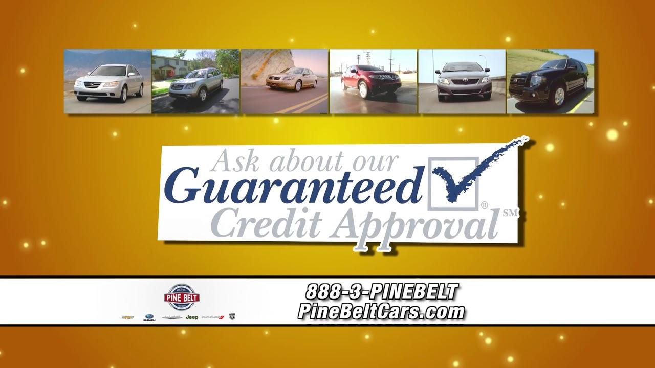 Guaranteed Financing Car Dealerships Near Me >> Guaranteed Credit Approval Pine Belt Cars