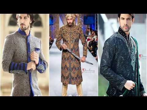 latest sherwani designs for men wedding | groom sherwani for wedding by fashion shade