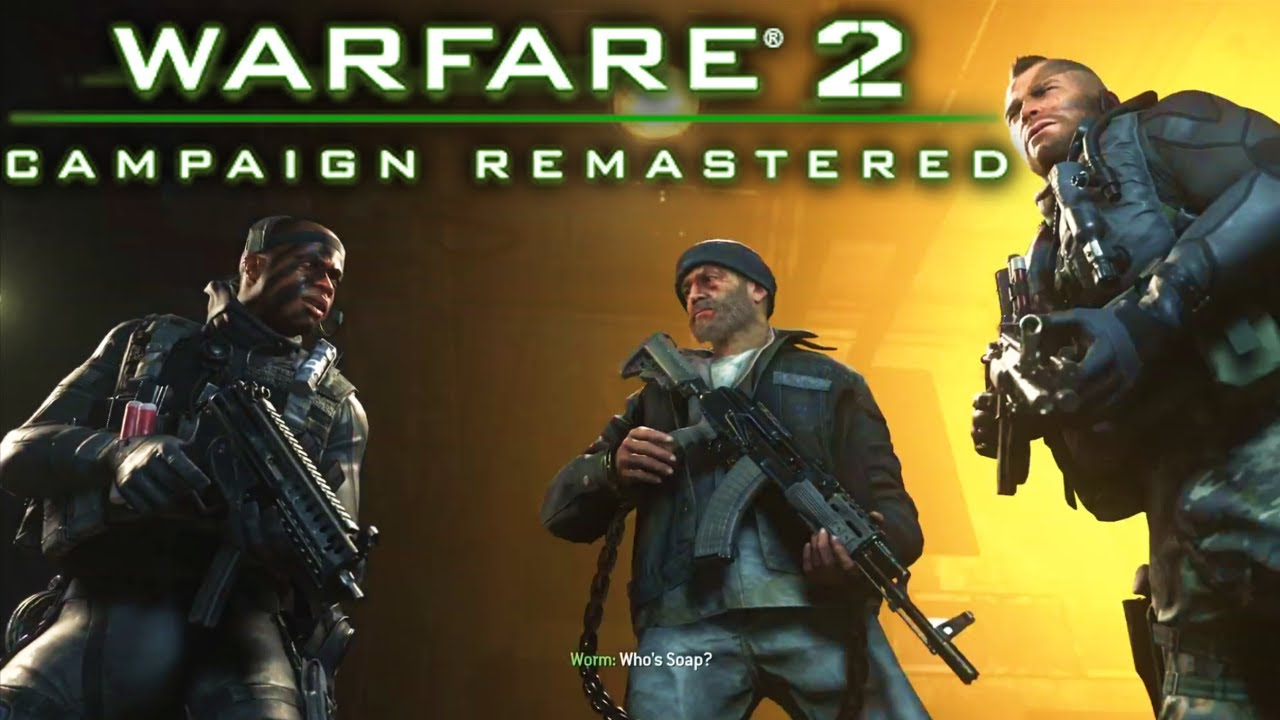 Modern Warfare 2 Campaign Remaster Cutscenes And Gameplay Footage