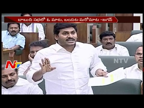 YS Jagan Comments on Chandrababu over Election Promises || Assembly Budget Sessions