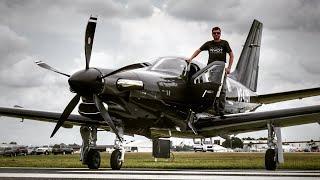 FLYING THE BRAND NEW 2021 TBM940 BLACK KNIGHT! - Flight VLOG!