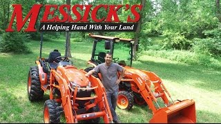 Kubota B50-Series tractors, B2650 & B3350. Review and functions | Messick's