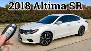 2018 Nissan Altima SR Test Drive & Review