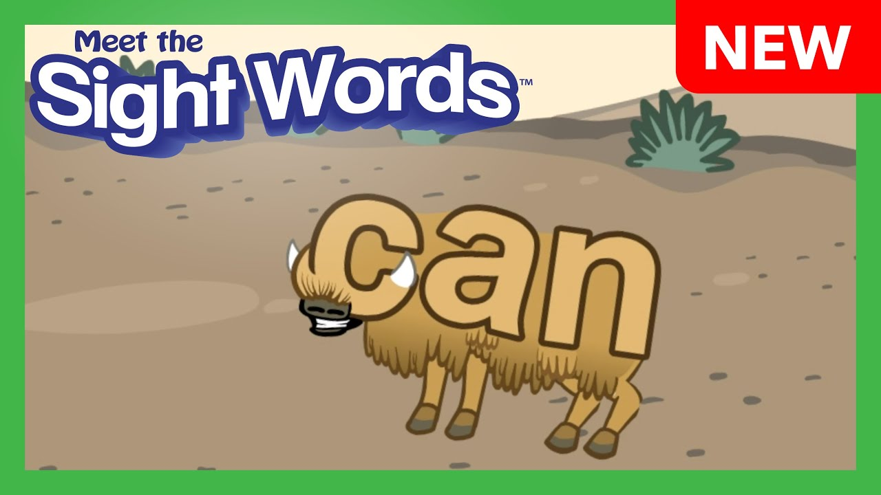 """NEW! Meet the Sight Words Level 4 - """"can"""""""