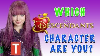 Which Descendants 2 Character Are You QUIZ