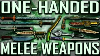 One-Handed Melee - Fallout 3 - Rare & Unique (Includes DLCs)
