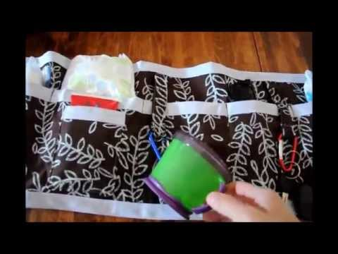 Diy pursediaper bag insert pockets organizer tutorial youtube solutioingenieria Choice Image