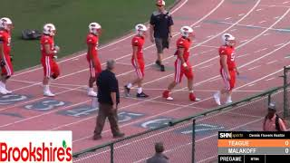 High School Football - Malakoff Tigers vs. Teague Lions - 8/30/2019 - VIDEO