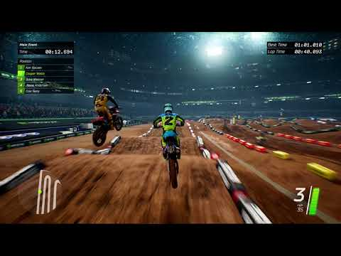 Monster Energy Supercross - The Official Videogame - Gameplay San Diego