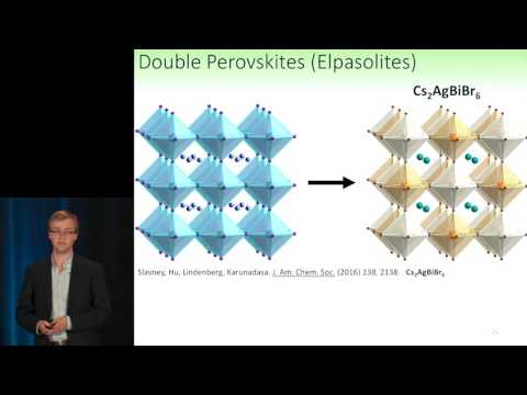 Adam Slavney: Addressing Lead Toxicity with Perovskites | GCEP Symposium – November 3, 2016
