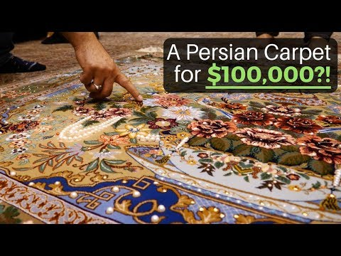 A Persian Carpet for $100,000?! (Isfahan, Iran)