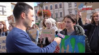 SONDA: Przeciwko czemu protestujesz? Młodzieżowy Strajk Klimatyczny