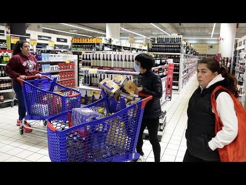 Al asalto de los supermercados de Madrid