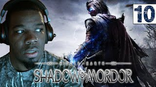 Middle Earth Shadow of Mordor Gameplay Walkthrough Part 10 Black Captain - Lets play