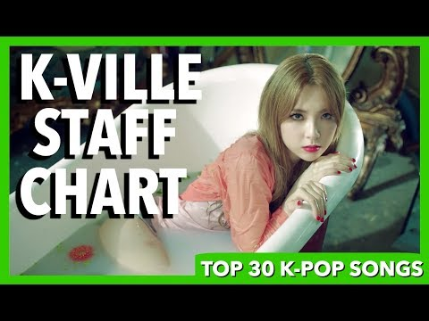 K-VILLE STAFF CHART - TOP 30 K-POP SONGS OF JULY 2017 (WEEK 3)