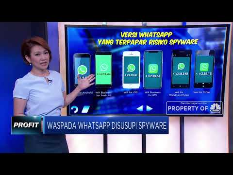 Waspada Whatsapp Disusupi Spyware