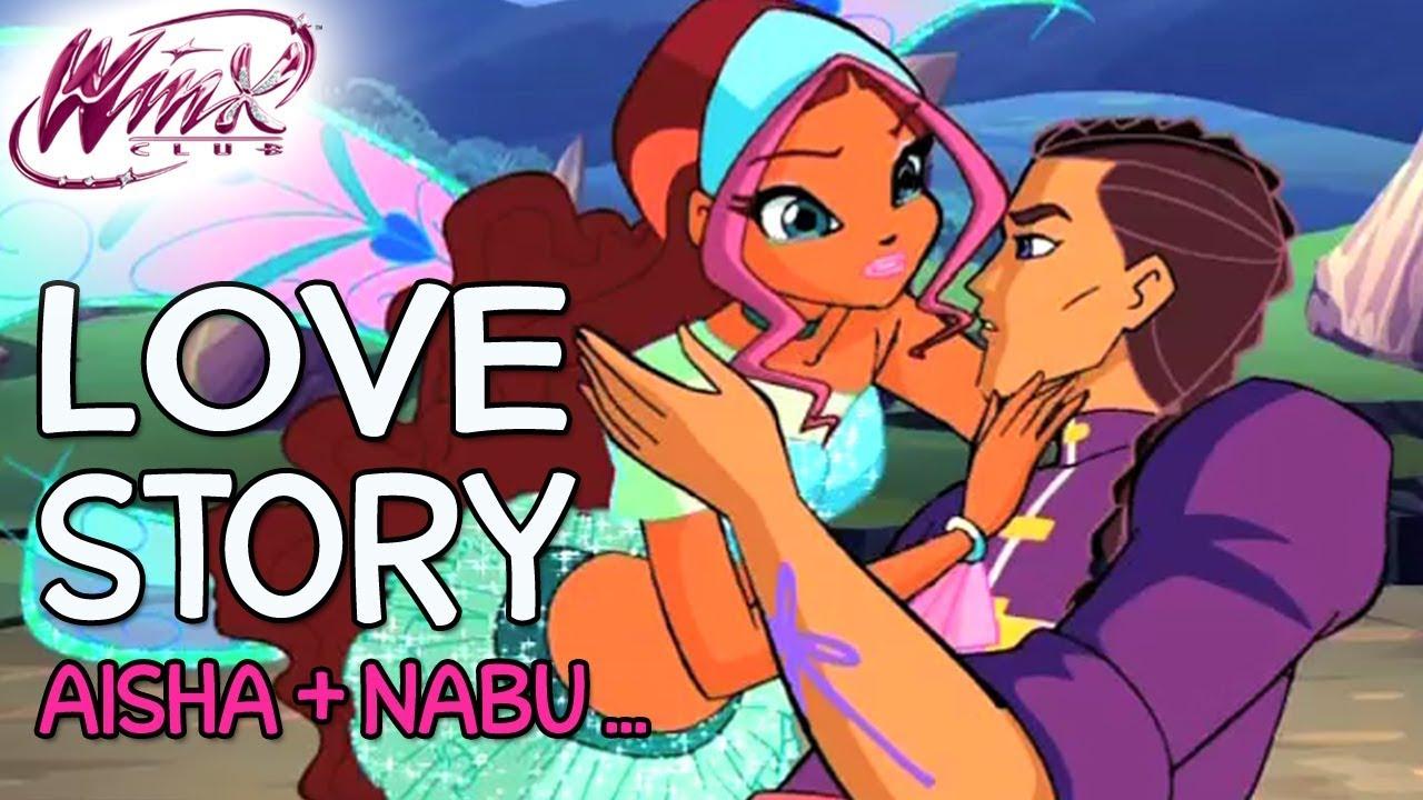 Winx Club Aisha Og Nabus kærlighedshistorie Plus Roy og Nex-9454