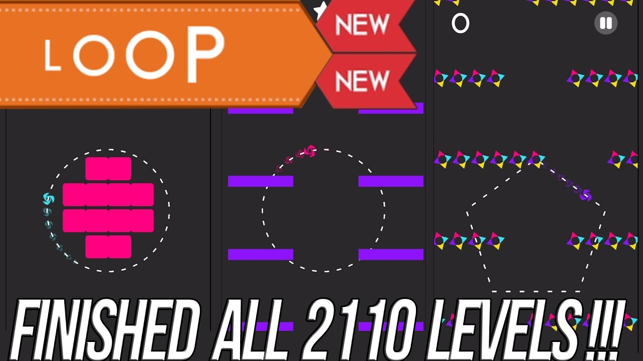Color Switch Loop Levels 1-50 - YouTube