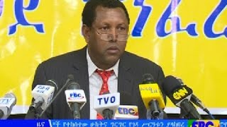 Ethiopian political parties have a meeting in addis