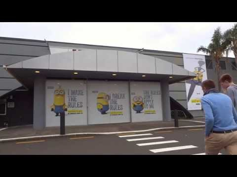 Minions Mall Door Audio