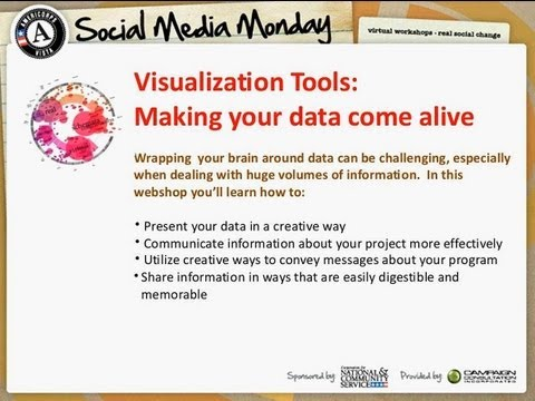 Social Media Monday: Visualization Tools - Making Your Data Come Alive
