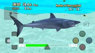Android DreamCast Emulator ReiCast Sega Marine Fishing Game Play
