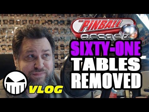 60+ Tables Disappearing from The Pinball Arcade! (What?, When?, Why?)