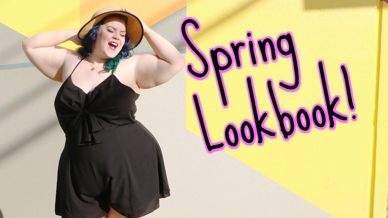 [VIDEO] - PLUS SIZE SPRING FASHION Lookbook 5