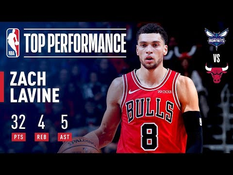 Zach Lavine Scores 30+ In His Fourth Straight Game | October 24, 2018