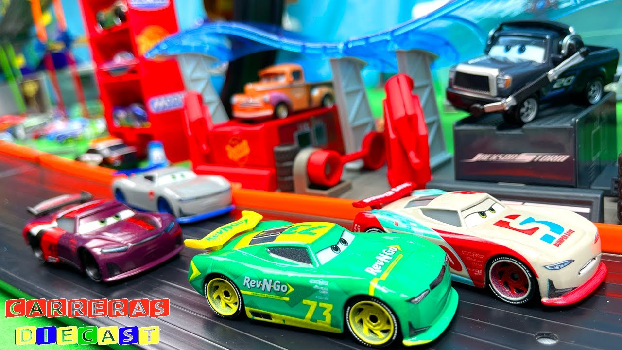DISNEY CARS SUPER MONTAÑA DE VELOCIDAD cuarta parte