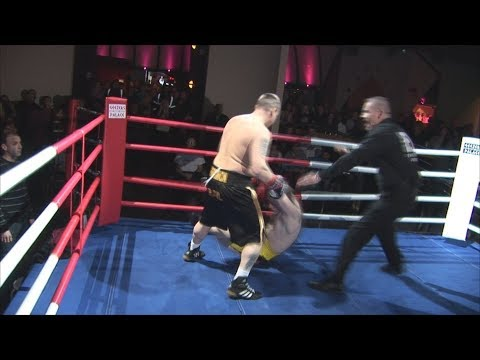 Classic Unlicensed Boxing - Darren Clark v Paddy O'Byrne - EBF