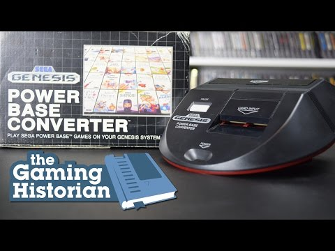 Sega Power Base Converter - Gaming Historian